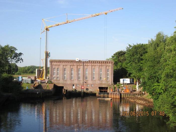Hecker Bau – Huntewasserkraftwerk Oldenburg