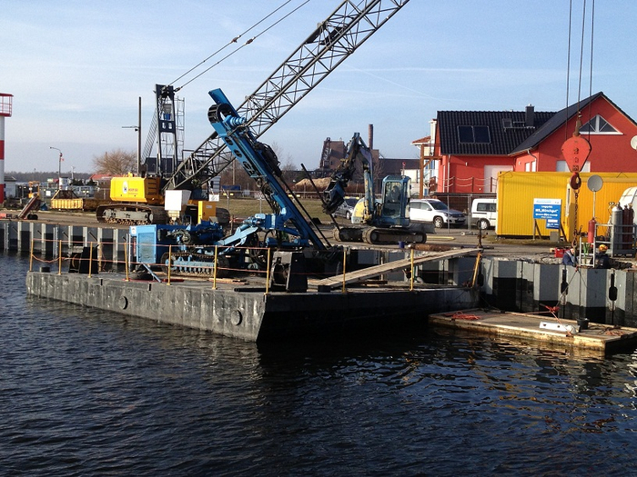 Hecker Bau – Hafen Peenemünde