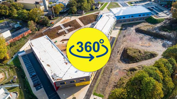Grundschule Velbert 360-Grad-Panorama