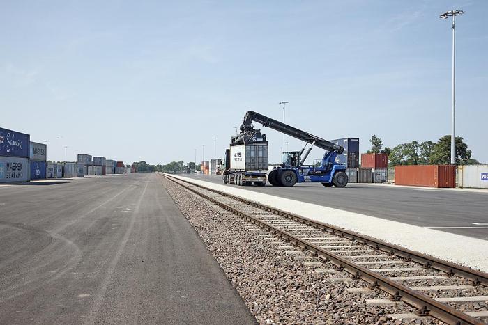 [Translate to Dänisch:] Containerterminal für HHLA Intermodal Polska Sp. z o. o. in Kornik/Polen